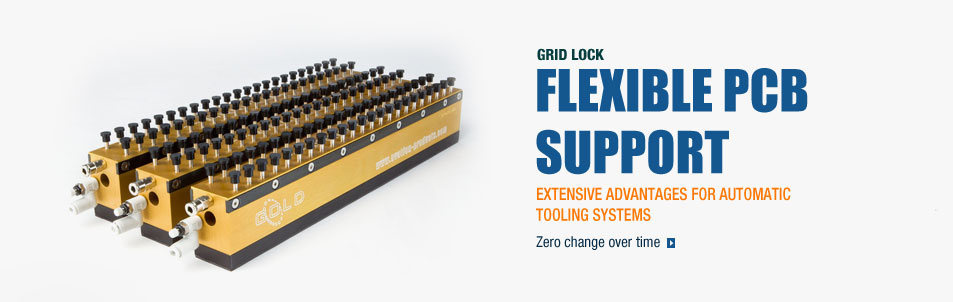 Grid Lock Flexible Support